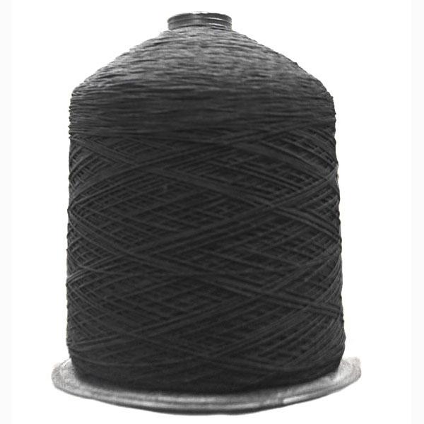 Нитка резинка черная, 1 мм