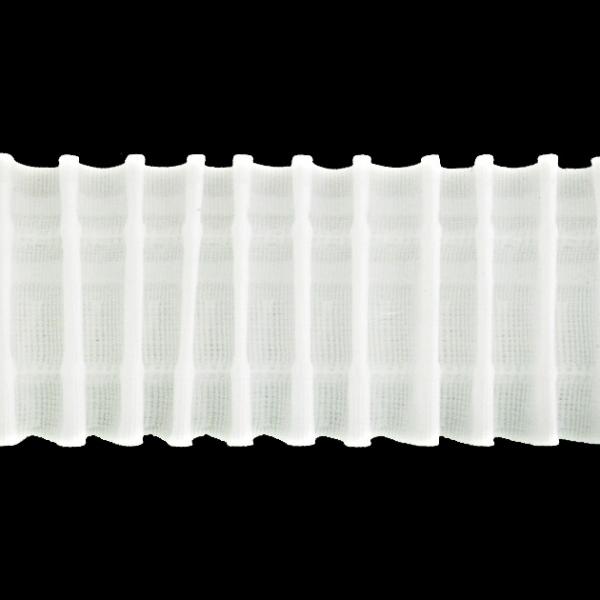 Лента для штор равномерная, 6 см