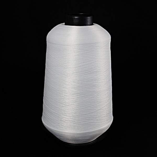 Нить текстурированная (оверлочная), белая