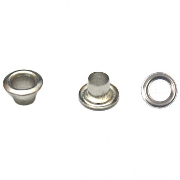 Блочка никель, 4мм антимагнит + кольца