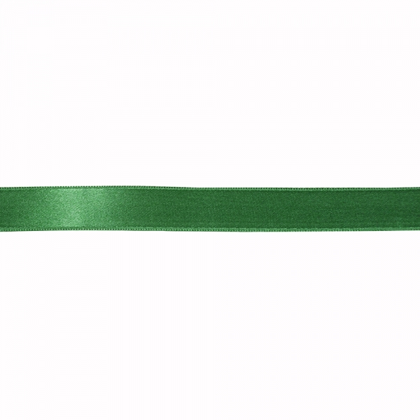 Лента атласная зеленая, 2 см