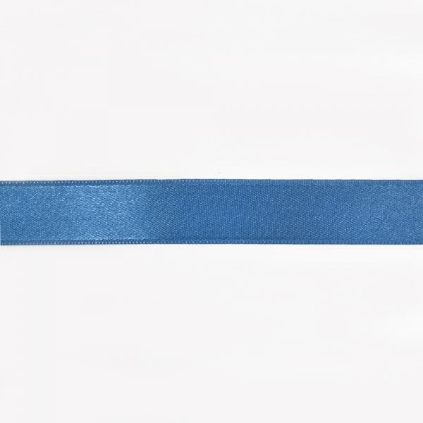 Лента атласная голубая, 2 см
