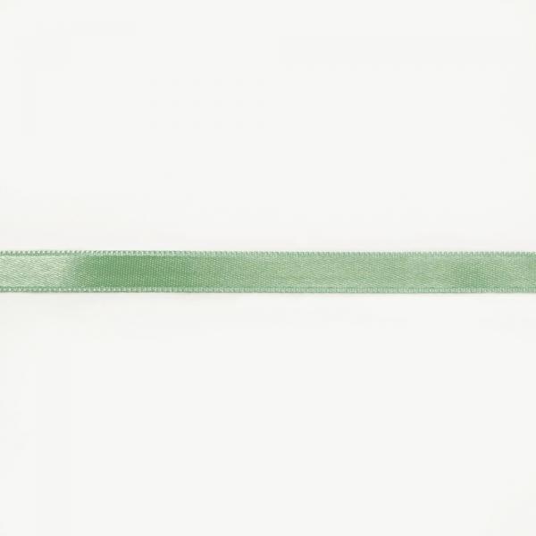 Лента атласная аквамарин, 1 см