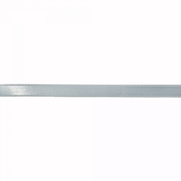 Лента атласная светло-голубая, 1 см