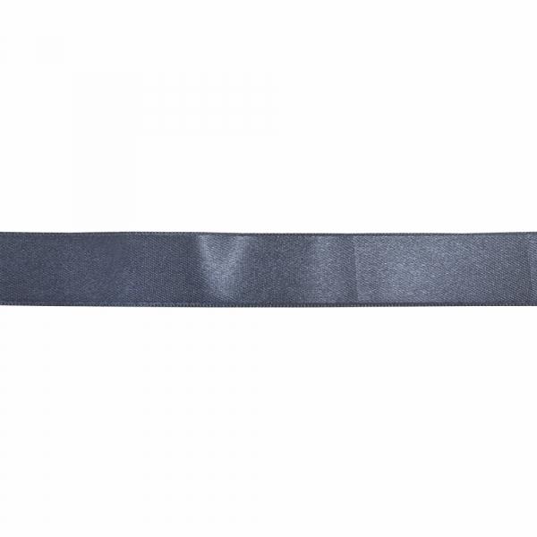 Лента атласная темно-синяя, 3 см
