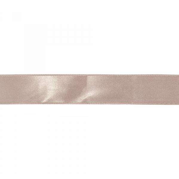 Лента атласная светло-розовая, 3 см