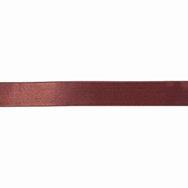 Лента атласная бордовая, 3 см