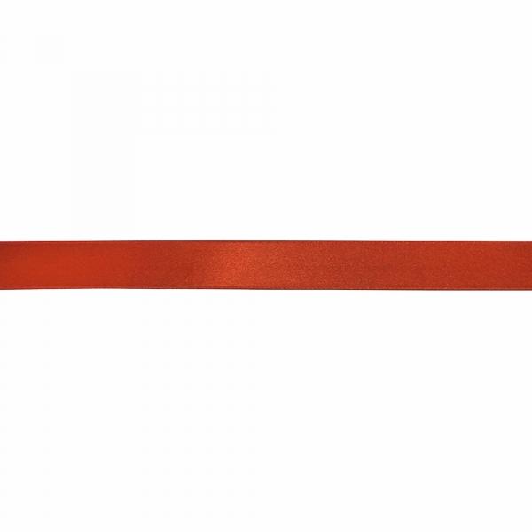 Лента атласная темно-рыжая, 3 см
