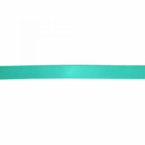 Лента атласная аквамарин, 3 см