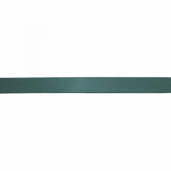 Лента атласная темно-зеленая, 3 см