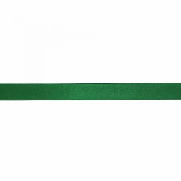 Лента атласная зеленая, 3 см