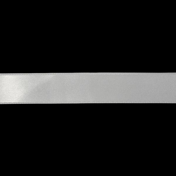 Лента атласная белая, 3 см