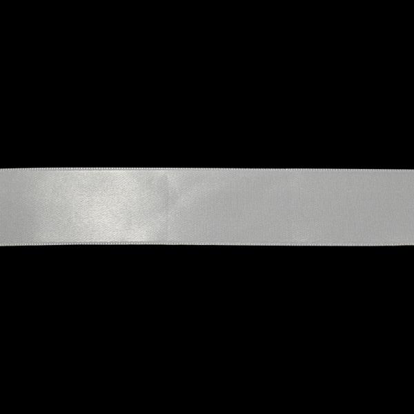 Лента атласная белая, 4 см