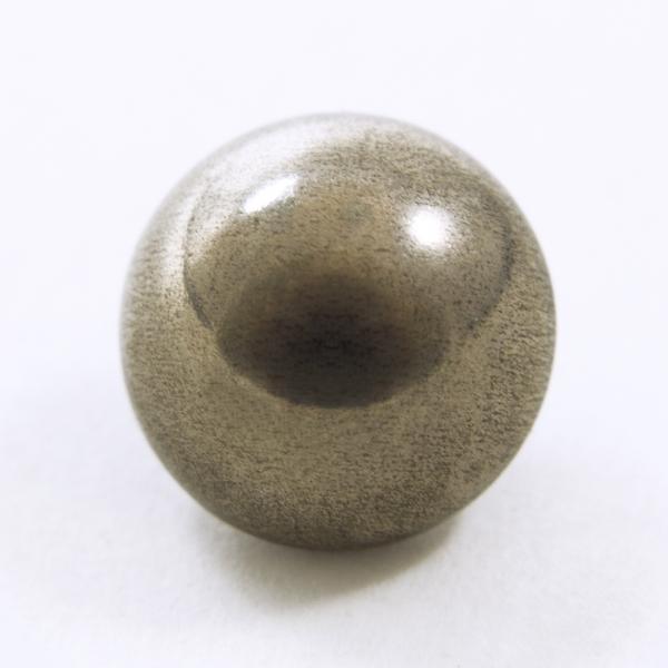 Пуговица бронзовая металлическая, 14мм