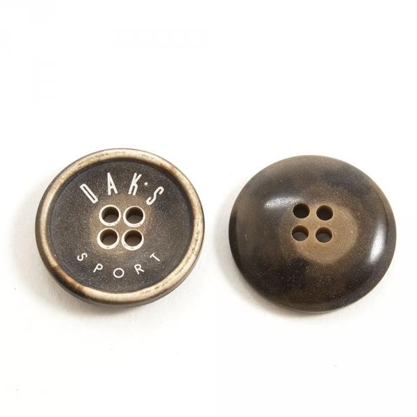 Пуговица 4 удара Daks, 20 мм