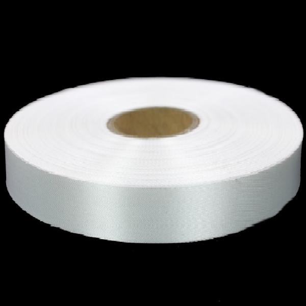 Лента для накатки Saten(сатин) белый, 4 см