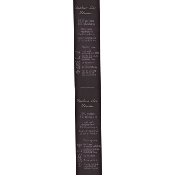 Лента для накатки Saten (сатин) черная, 1 см