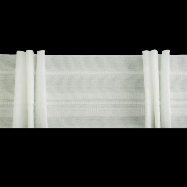 Лента для штор тройная складка, 6 см