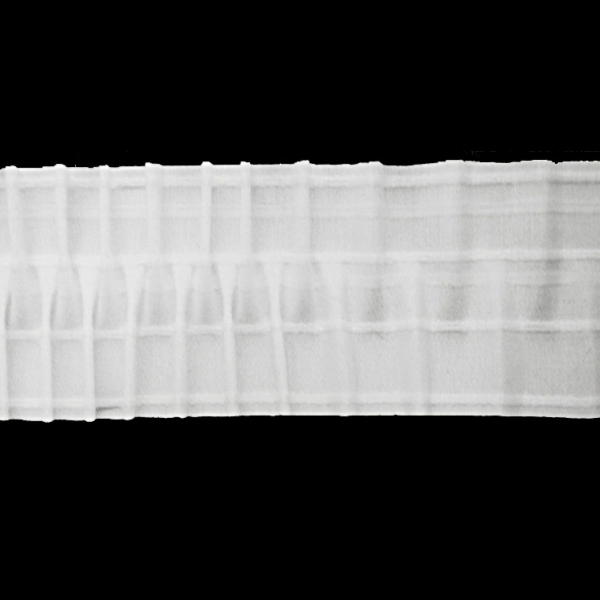 Лента для штор вафельная, 10 см