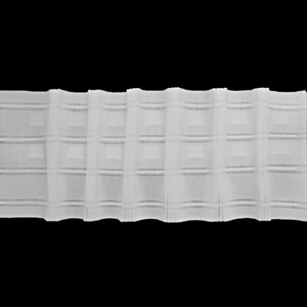 Лента для штор равномерная, 10 см