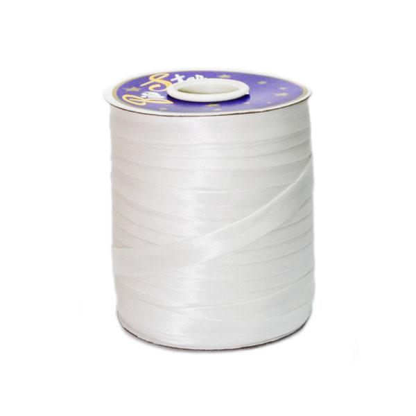 Косая бейка белая, 16 мм
