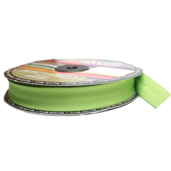 Косая бейка х/б салатовая, 2 см