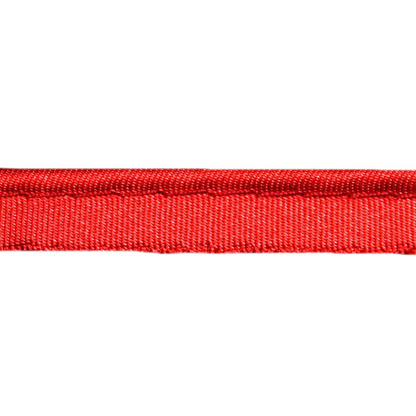 Кант атласный красный, 1.2 см