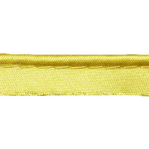 Кант атласный жёлтый, 1.2 см