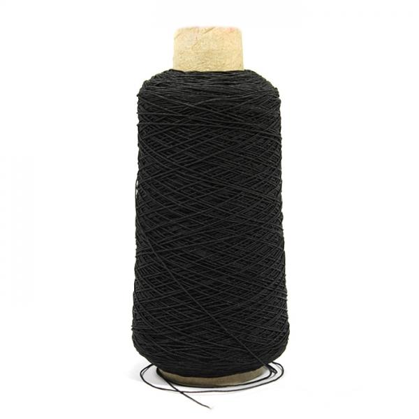 Нитка-резинка черная, 1 мм