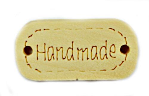 """Деревянный декор """"Hand Made"""", 12х23 мм"""