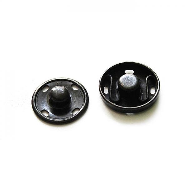 Кнопка пришивная оксид, 12 мм