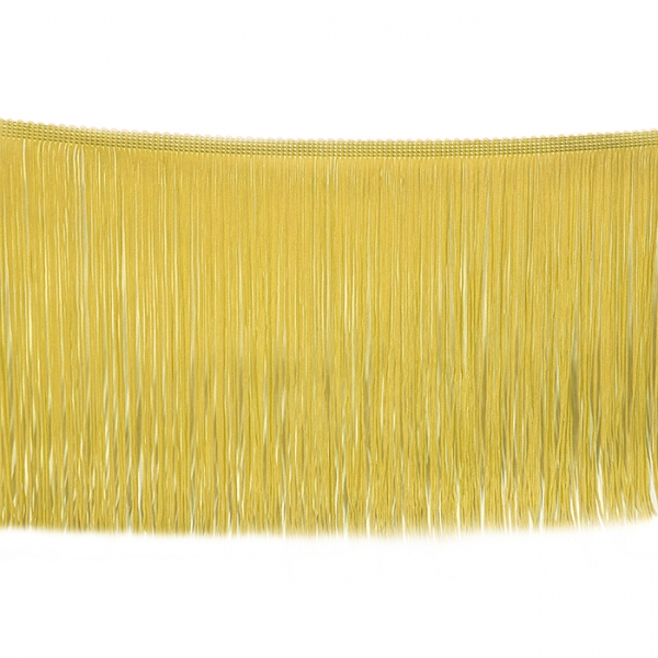 Бахрома танцевальная золото,15 см