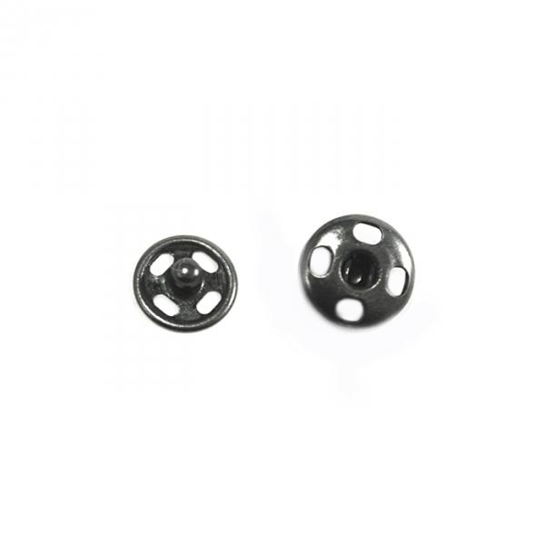 Кнопка пришивная оксид, 8 мм
