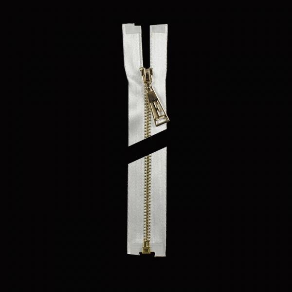 Молния Lux белая + золото, 60 см