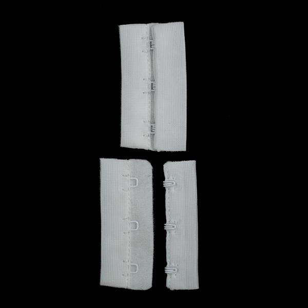 Застежка-удлинитель белая, 3 ряда