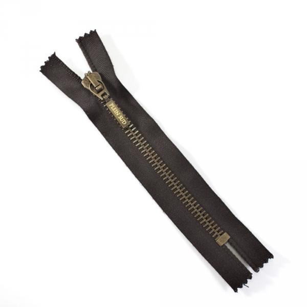 Молния Lampo коричневая, 14 см