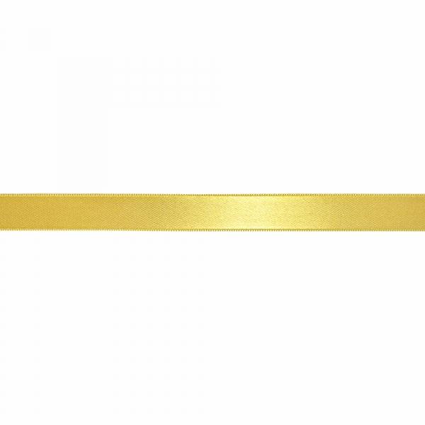 Лента атласная светло-желтая, 2 см