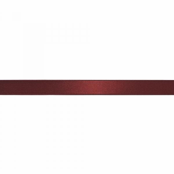 Лента атласная бордовая, 2 см