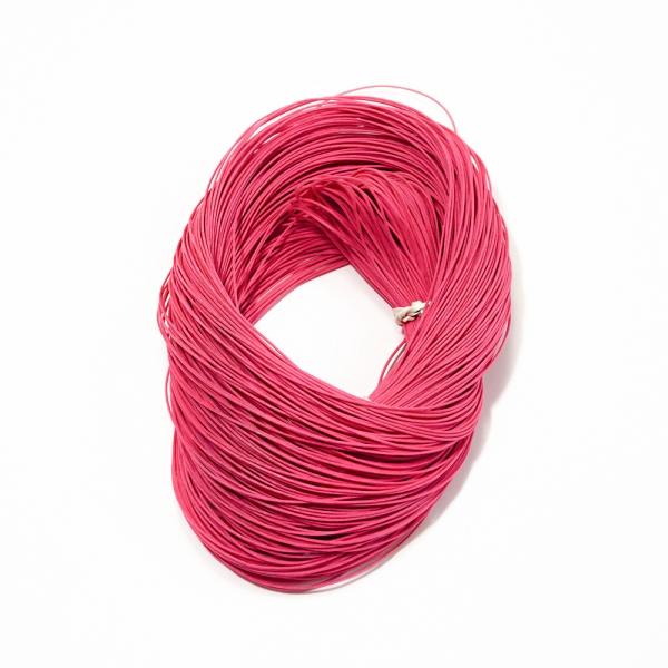 Канатик с леской розовый, 1 мм