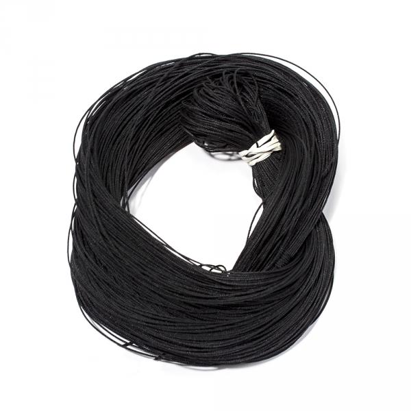 Канатик с леской черный, 1 мм