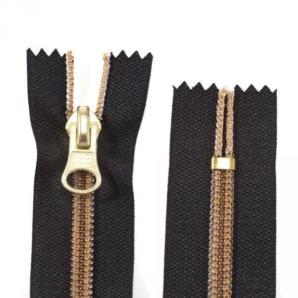 Молния Lux черная+бронза, 18 см