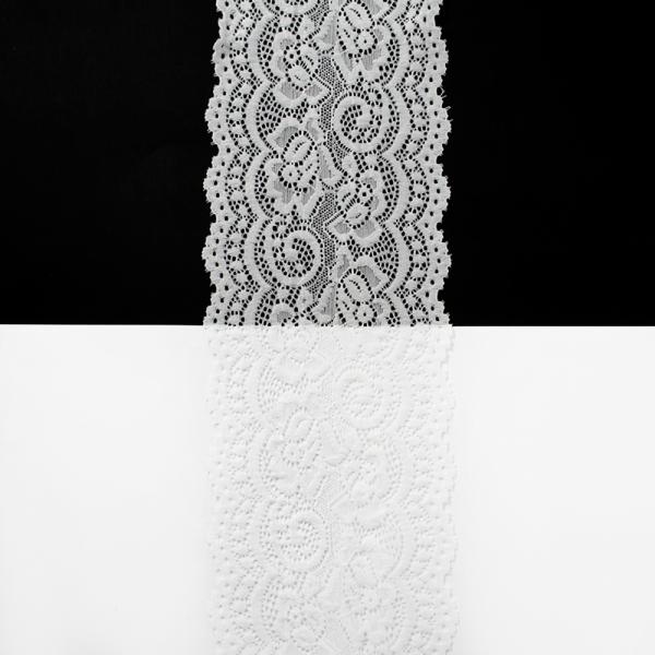 Кружево белое, 10 см