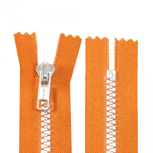Молния Lux оранжевая+серая, 15 см