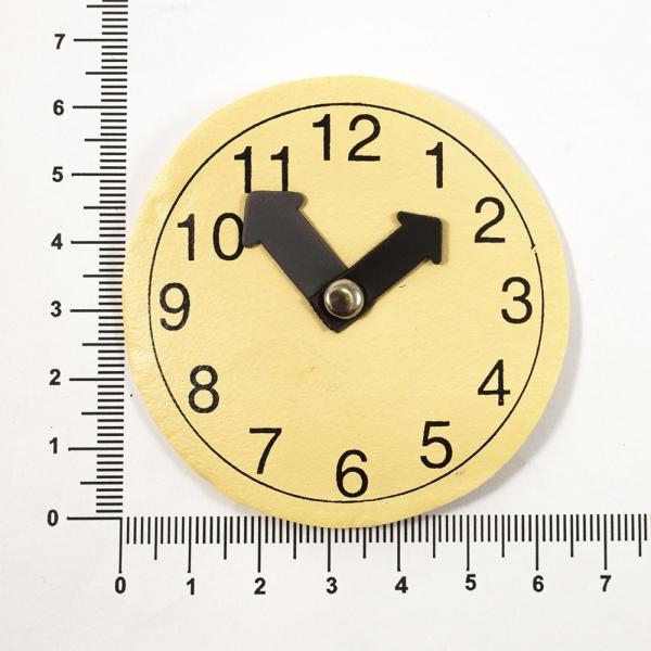 Бирка-резинка часы 6,5 см