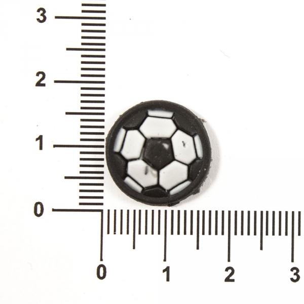 Бирка-резинка футбольный мяч 1,7 см
