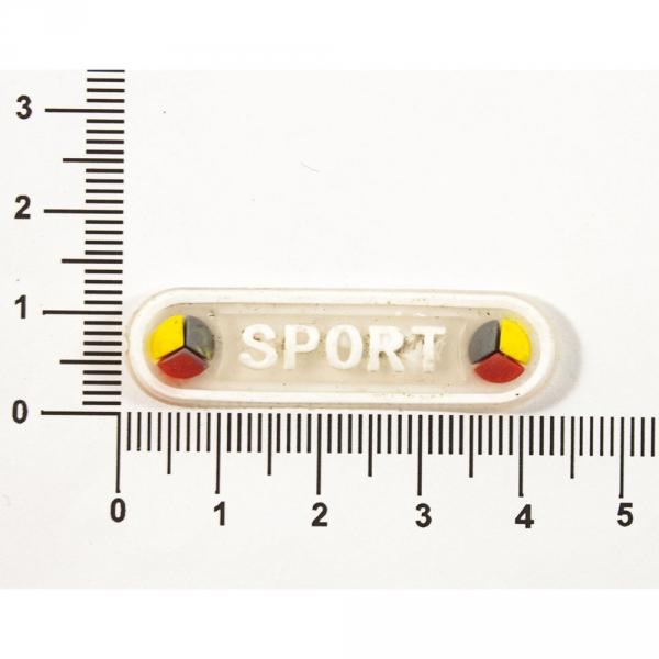 Бирка-резинка 4.3х1.2 см