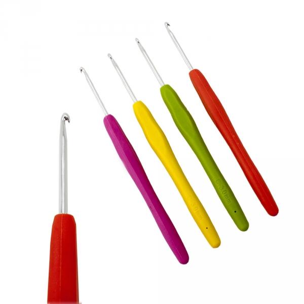 Крючок с силиконовой ручкой №3