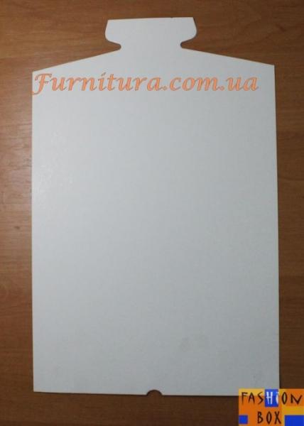 Картон для упаковки сорочек 24х38 см