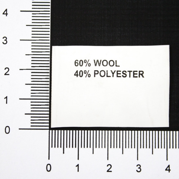 Бирка, 4х2.5 см, полиэфир