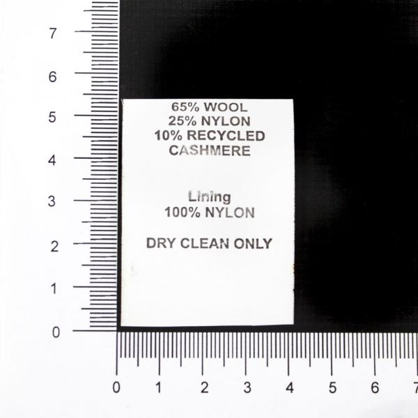 Бирка, 4х5 см, полиэфир